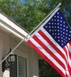 American Signature 6-Foot Heavy-Duty Aluminum Spinning Tangle-Free Flagpole