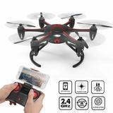 Tech rc Hexacopter Drone Wi-Fi Version