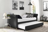 DHP Sophia Upholstered Daybed and Trundle