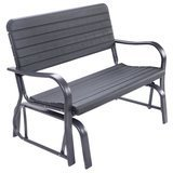 Costway Outdoor Patio Swing Porch Rocker Glider