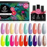 Beetles 20-Piece Gel Nail Polish Kit, Spring into Summer Collection