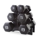 CAP Barbell Neoprene Dumbbell Set