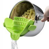 Kitchen Gizmo Snap 'N Strain Strainer