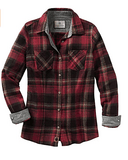 Legendary Whitetails Cottage Escape Button-Up Flannel