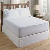 Serta Luxurious Sherpa Heated Electric Mattress Pad